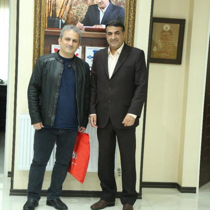 محمد مسلمی (عمو فیتیله ای) و آی مت - دکتر مسعود زاده باقری