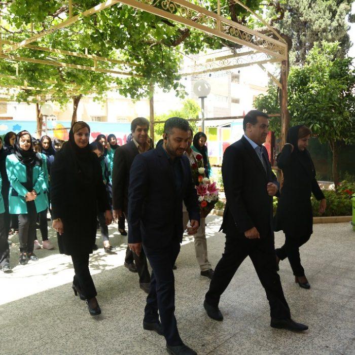 مراسم تجلیل از مربیان آی مت و فریزبی نمایندگی مرکزی مدرس (فضل آباد)