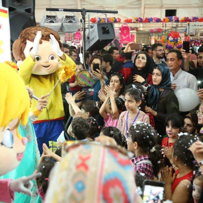 غرفه فعال و پربازدید آی مت در نمایشگاه کودک و نوجوان شیراز