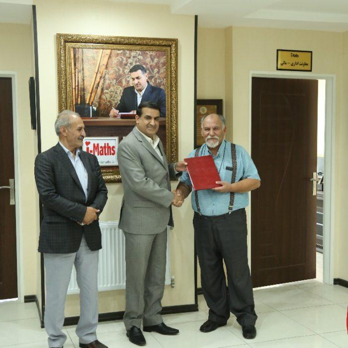 دیدار دکتر زاده باقری با مهندس علی اکبری نماینده محترم مردم شیراز و عضو هیات رییسه کمیسیون کشاورزی، آب و منابع طبیعی مجلس