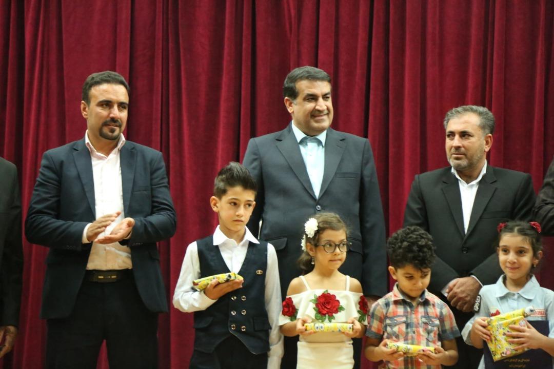 مراسم روز جهانی کودک در نمایندگی مرکزی آی مت ابریشمی شهر شیراز