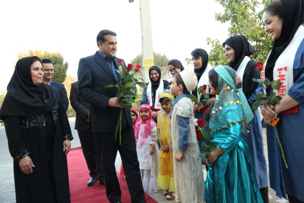 مراسم افتتاحیه نمایندگی جدید موسسه در شهرک والفجر شهر شیراز