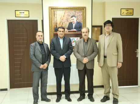 دیدار جناب آقای دکتر رضایی نماینده محترم مردم در مجلس شورای اسلامی