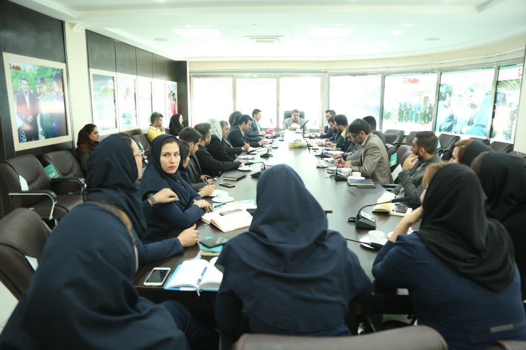 بیست و یکمین جلسه هماهنگی و ارایه راهکارهای اجرایی جشنواره جهانی شادی و نشاط آی مت - کیش