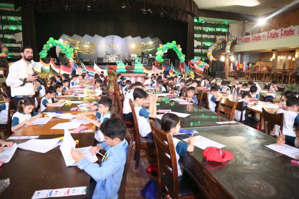شادی و نشاط کودکان در روز اول جشنواره iMaths 2020