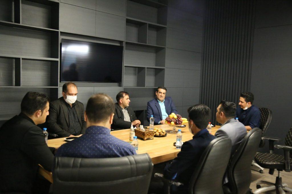 بازدید و دیدار مدیرعامل محترم موسسه جناب آقای دکتر زاده باقری از مجموعه هایپرلند شهر شیراز