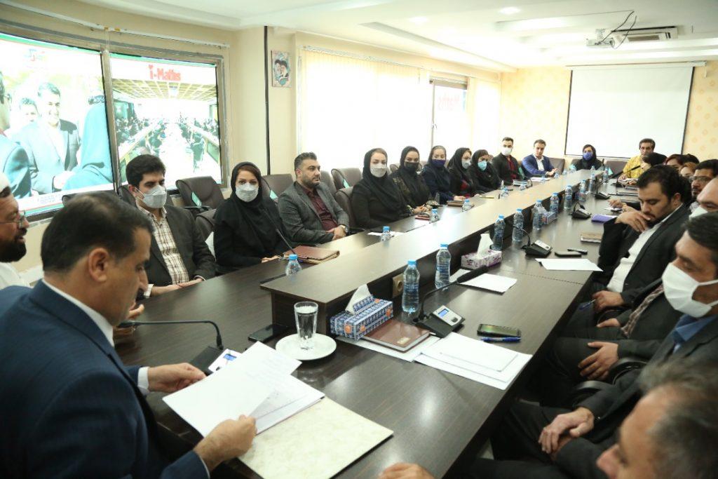 حضور جناب آقای دکتر مسعود زاده باقری در جلسه هم اندیشی با نمایندگان آی مت شهر شیراز